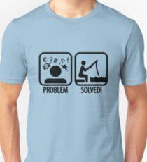 Fishing: Problem Solved Unisex T-Shirt