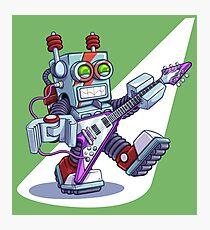 Rock-n-Roll-Bot 9000, Robot Photographic Print