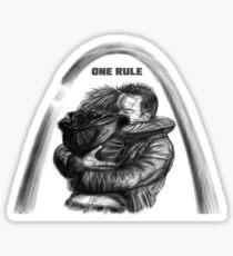 One Rule Sticker