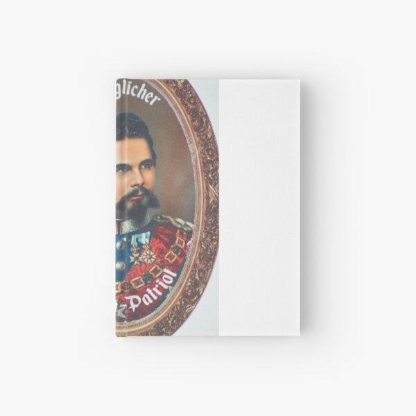 King Ludwig II of Bavaria Hardcover Journal