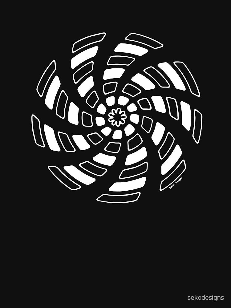 Mandala 29 Simply White by sekodesigns
