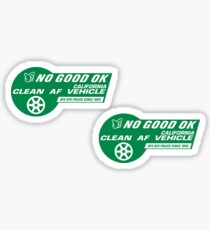 No Good Racing HOV Style Decals Sticker