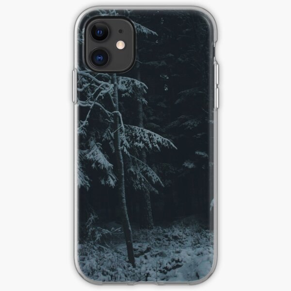 Winter Dark iPhone Soft Case