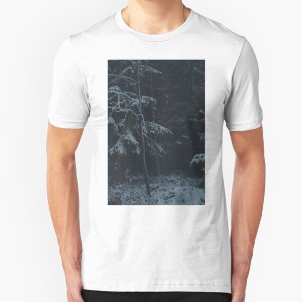 Winter Dark Slim Fit T-Shirt