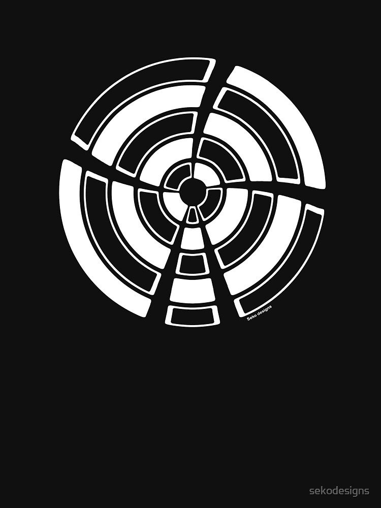 Mandala 25 Simply White by sekodesigns