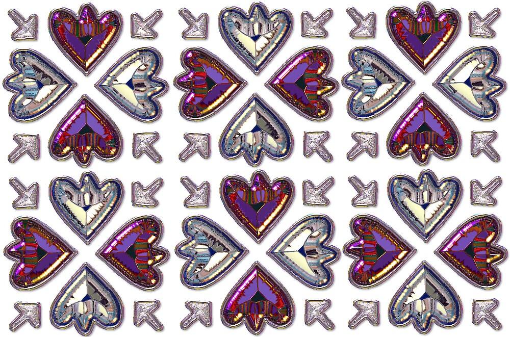 Jewelled Card by sootyangel