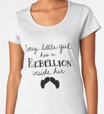 Princess Leia - Rebellion Women's Premium T-Shirt