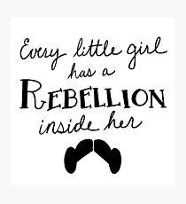 Princess Leia - Rebellion Photographic Print