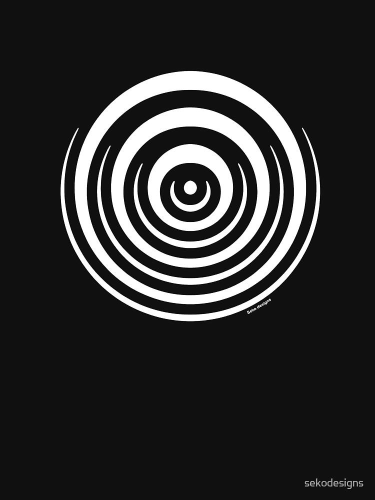Mandala 16 Simply White by sekodesigns
