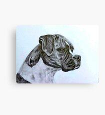 Boxer Dog 2 Canvas Print