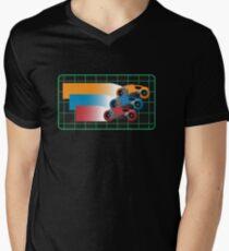 Tron Light Cycles Men's V-Neck T-Shirt