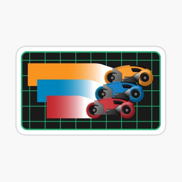 Tron Light Cycles Sticker