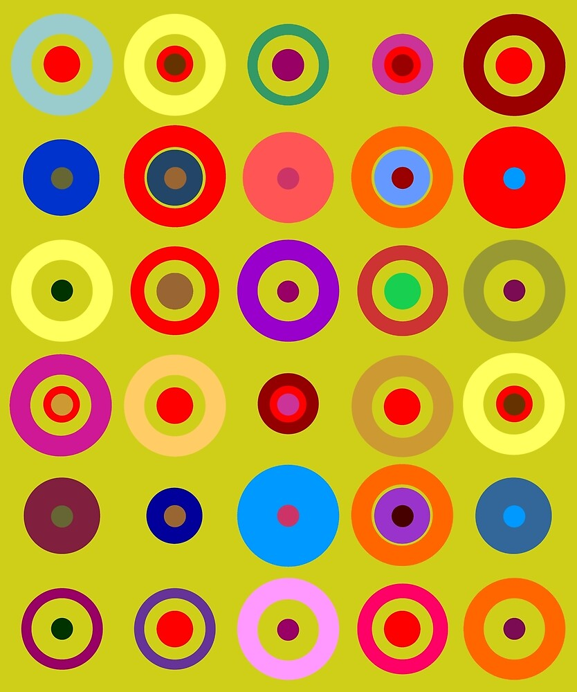 Op Art #10 by Rockett Graphics