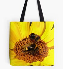 Many Hands Make Light Work!! - Bumblebees - NZ Tote Bag
