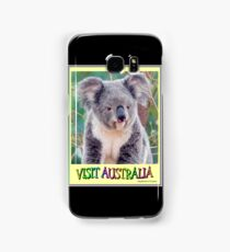 VISIT AUSTRALIA: Travel and Tourism Advertising Print Samsung Galaxy Case/Skin