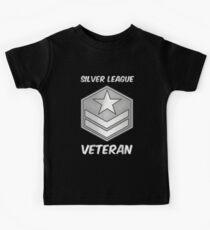 Silver League Veteran Gamer Gag Gift Kids Tee