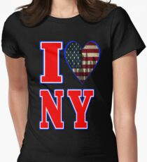 i love new york Womens Fitted T-Shirt