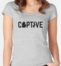 Michigan Captive Women's Fitted Scoop T-Shirt