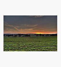 Cheshire Plain Photographic Print
