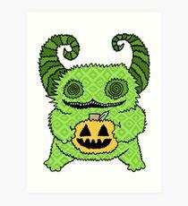 Happy Halloween Cutie Art Print