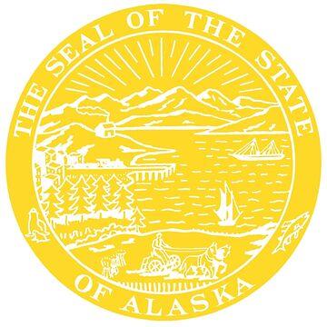 Alaska State Seal by WeMakeHistory