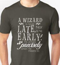 Questionable Punctuality Unisex T-Shirt