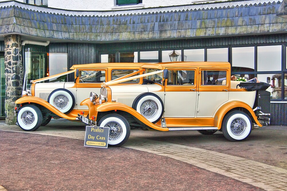 Cars Of Yesteryear. by crackerjack