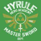 Hyrule Hero Academy by Arinesart
