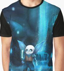 Waterfall - Underswap Sans Graphic T-Shirt