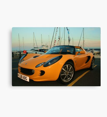 Quay For My Car Canvas Print