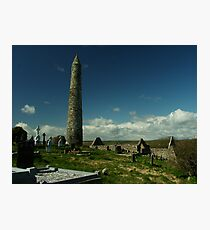Round tower Photographic Print