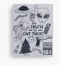 truth is out there Metal Print