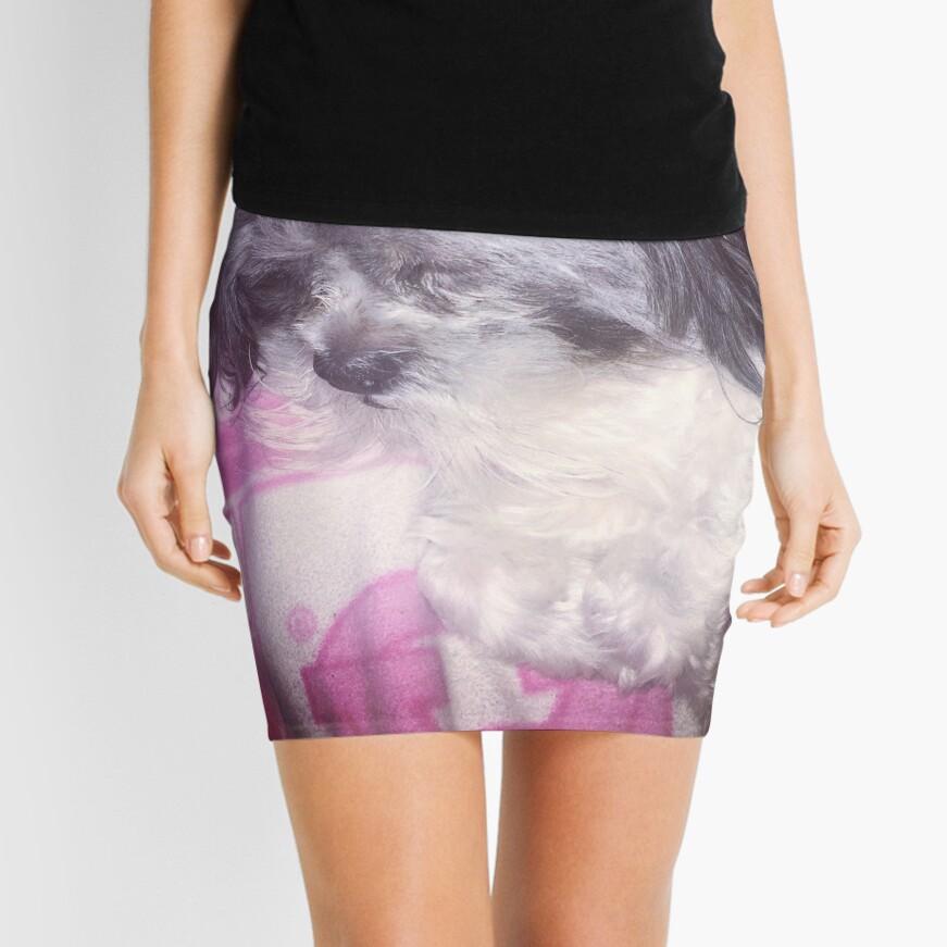Puppy Love  Mini Skirt