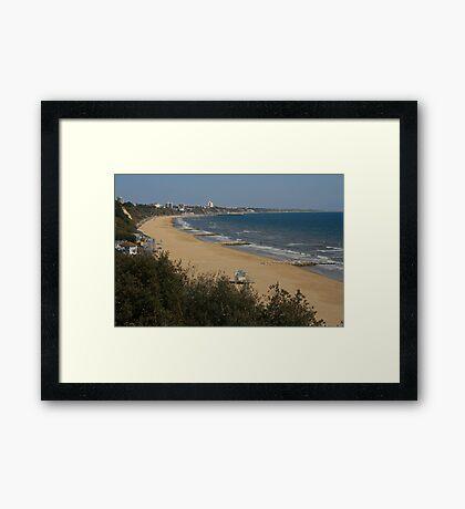 Golden Sands Framed Print