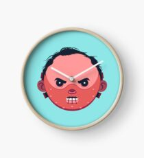 Hannibal Lecter Clock
