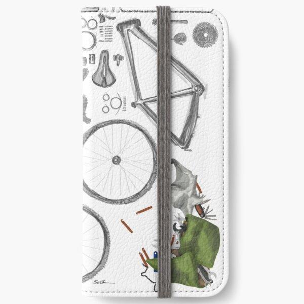 Bike's flatlay iPhone Flip-Case