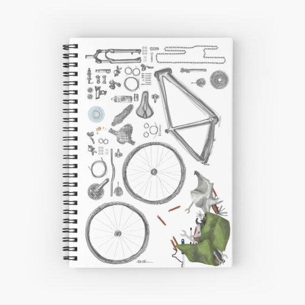 Bike's flatlay Spiralblock