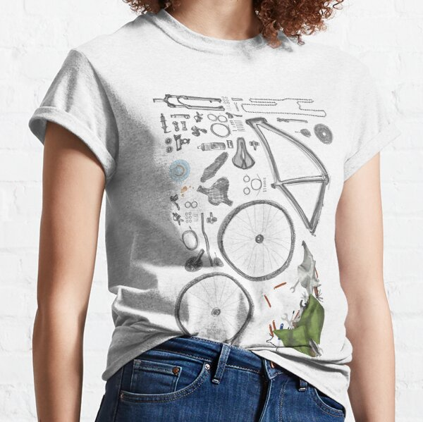 Bike's flatlay Classic T-Shirt