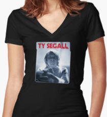 Ty Segall Women's Fitted V-Neck T-Shirt