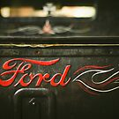 Ratte Rod Ford Detail von Christopher Boscia
