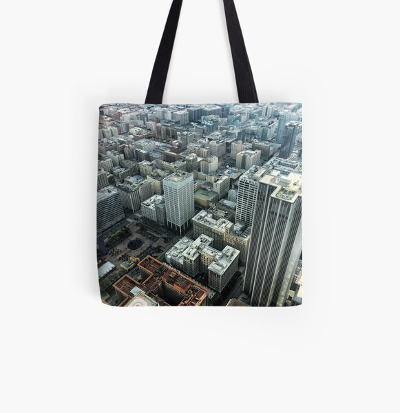 Downtown Los Angeles 1/1/17 #1 All Over Print Tote Bag