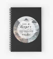 Christian Quote Spiral Notebook