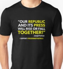 FREEDOM of the PRESS Unisex T-Shirt