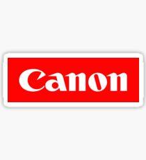 CANON BOX LOGO Sticker