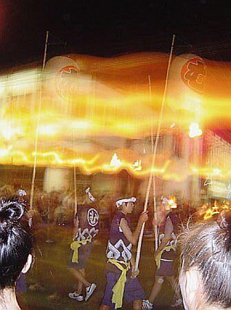 Spinning Lanterns by satsumagirl