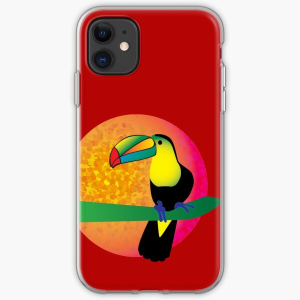 TouCan - Red iPhone Soft Case