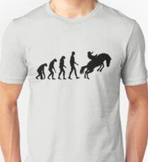 Evolution Horseback Riding T-Shirt