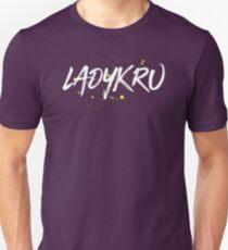 Ladykru (White Text) Unisex T-Shirt