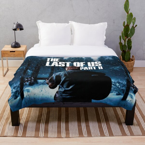 """The Last Of Us Part 2 """"Winter Song"""" Throw Blanket"""