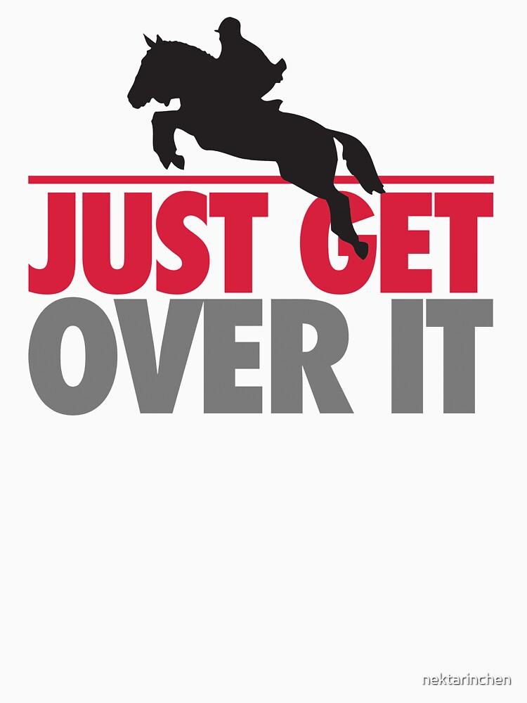 Just get over it - riding by nektarinchen
